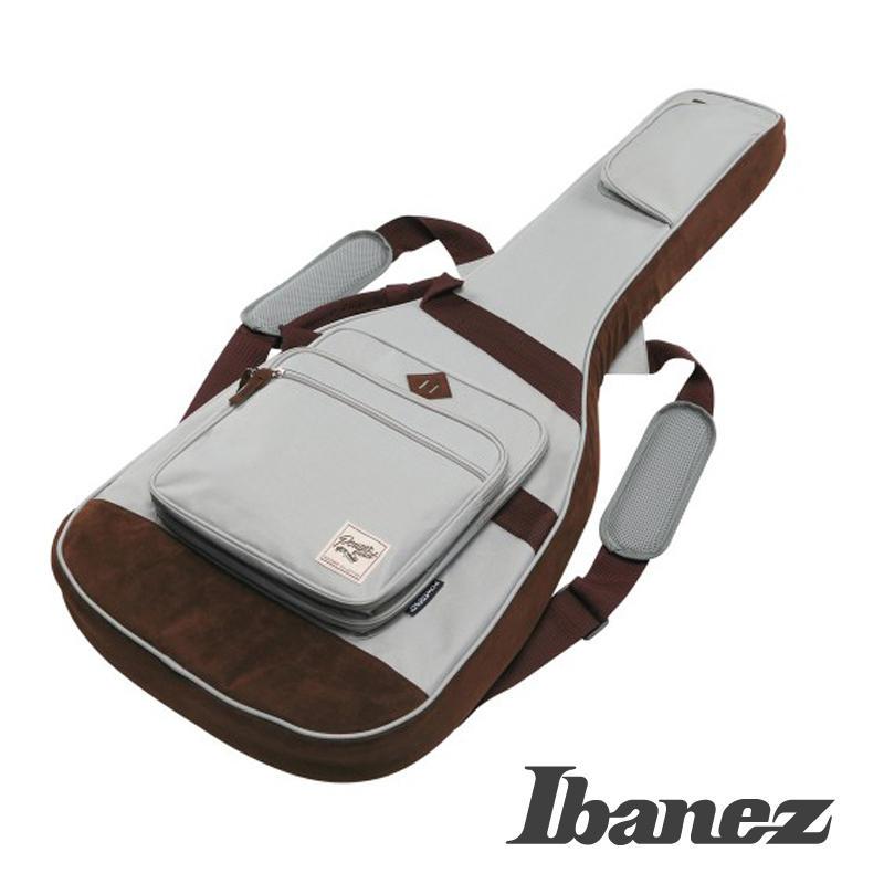 【鳳山名人樂器】IBANEZ POWERPAD IGB-541 GY 電吉他袋 琴袋 設計師聯名款 灰色現貨