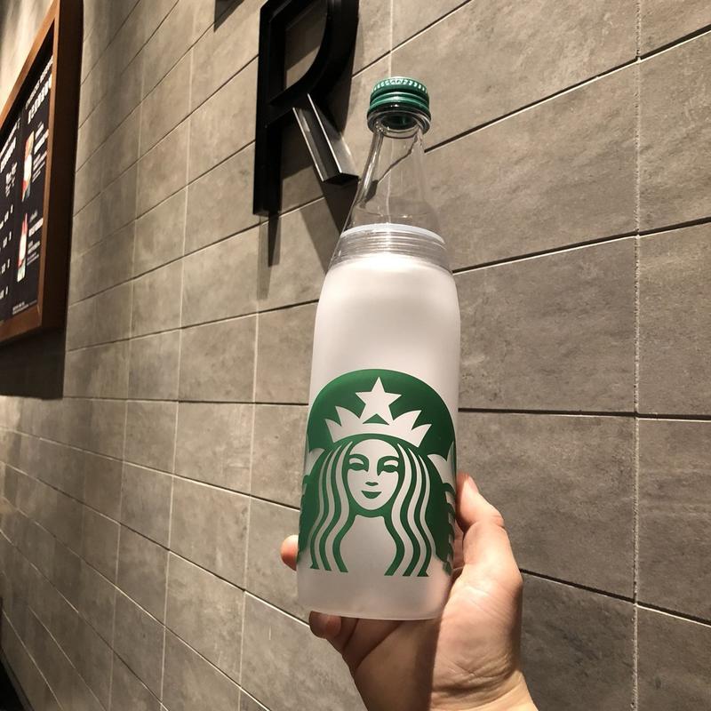 【水杯】低價下殺  限量星巴克新品杯子724ml白色經典傳承塑料水瓶隨行杯隨行瓶水杯