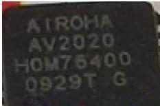 [二手拆機][含稅]拆機二手原裝AV2020 QFN