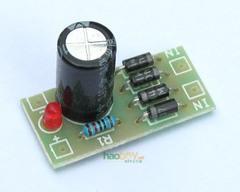 [含稅]電子diy小製作功放直流整流濾波單電源板模組 pcb電路板套件