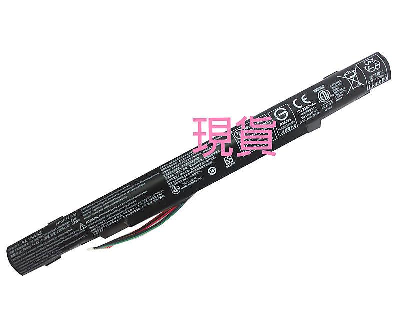 全新原廠 ACER AL15A32 電池 Aspire E5-452G E5-472 E5-472G E5-473