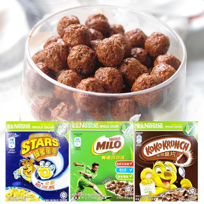 NESTLE雀巢早餐脆片隨手包25g 隨機[MS4800361]健康本味