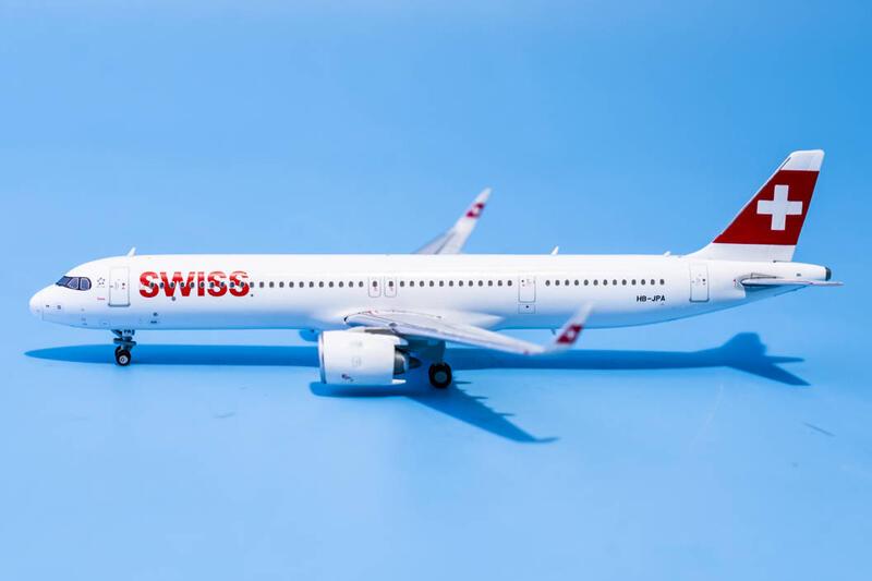 JC Wings 瑞士航空 Swiss A321neo HB-JPA 1:400