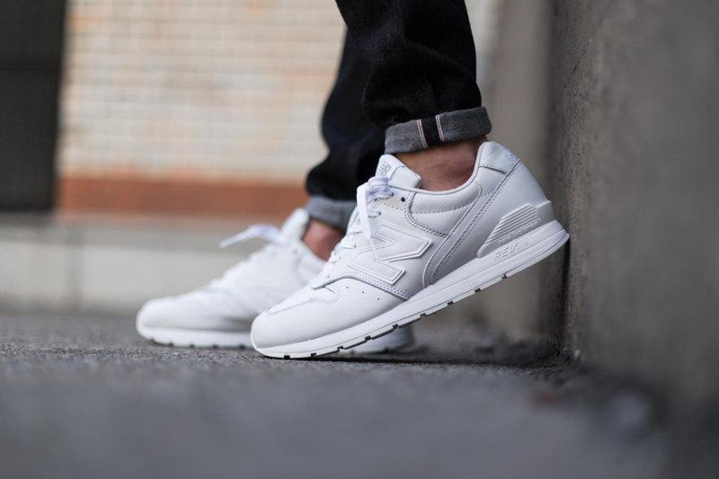separation shoes 62b26 6d871 9527 NEW BALANCE 996 MRL996EW Pure White 白色 皮革 皮質 純白 全白