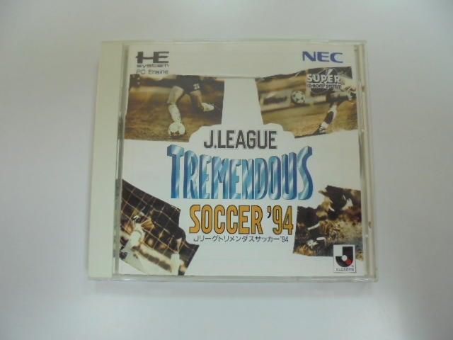 PC E 日版 GAME J聯盟足球94 (光碟小刮傷)(41060827)