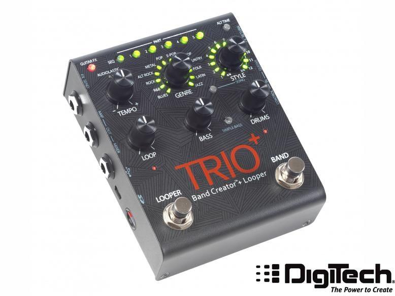 ☆ 唐尼樂器︵☆免運6期零利率 Digitech TRIO+ Band Creator Looper 自動伴奏一人樂團
