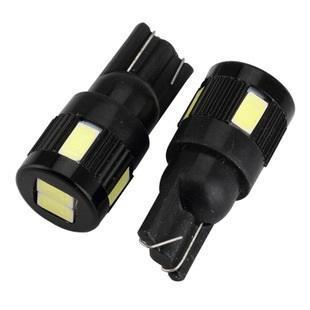 6晶 小燈 牌照燈專用 T10 5630LED燈  閱讀燈 車門燈 行李箱 定位燈