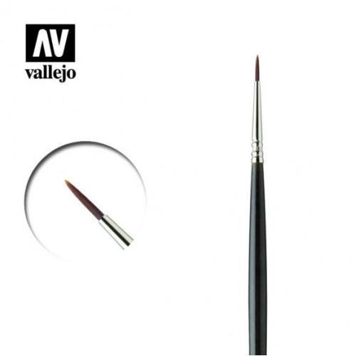 《密斯特喬》西班牙 Vallejo RK25400 面相筆 No.4/0