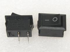 [含稅]KCD1 2腳方形船型開關 兩腳2檔開關 大電流6A