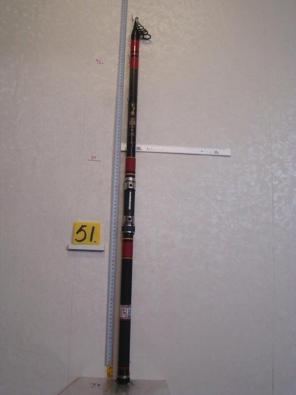 采潔 日本二手外匯釣具GAMAKATSU磯4-540 FX 磯釣竿T P S 前打竿 筏竿18尺中古二手 R51