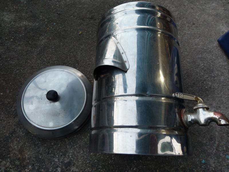 二手復古金屬小水桶(歡迎面交看物當收藏/裝飾品
