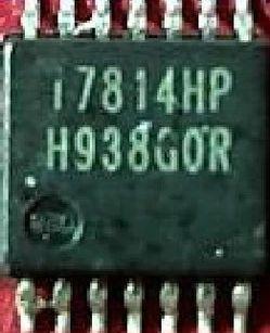 [二手拆機][含稅]拆機二手原裝 I7814HP 液晶屏晶片