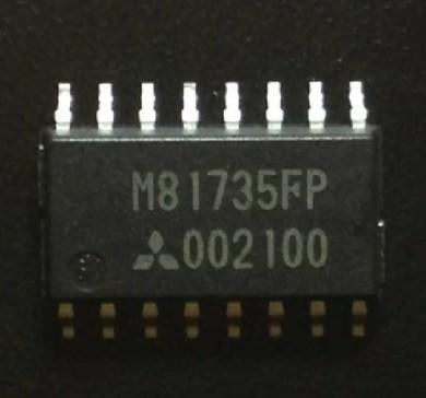 [二手拆機][含稅]拆機二手原裝 M81735FP 液晶晶片