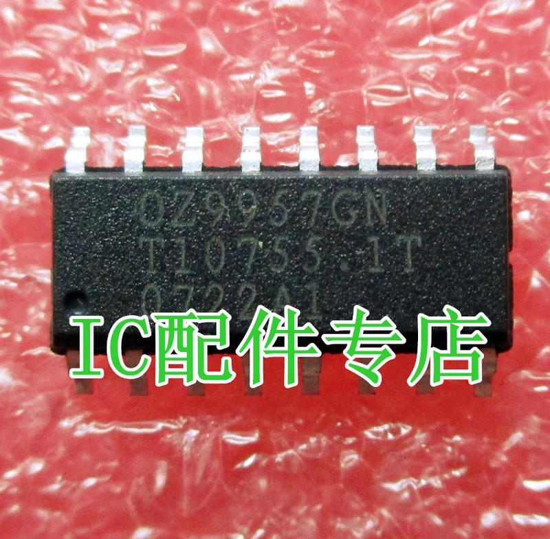[二手拆機][含稅]OZ9957GN 拆機二手液晶電視高壓控制晶片