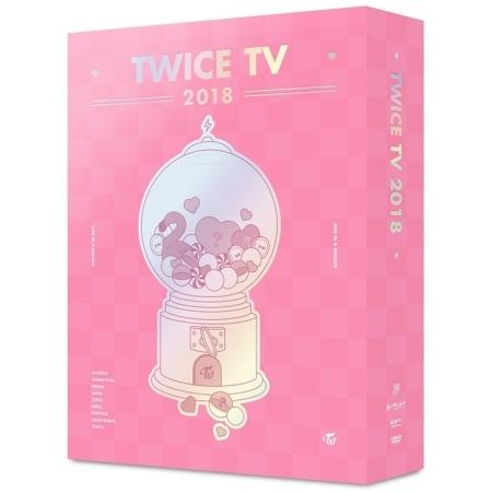 TWICE TV 2018 DVD (4 DISC)<無小卡>