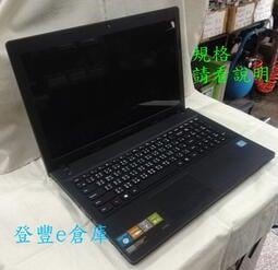 【登豐e倉庫】 IBM Lenovo G500 15.6吋 i3 四核心 500G 附皮包 筆電