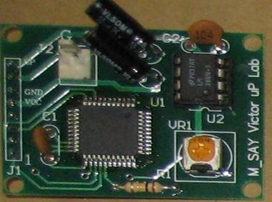 [偉克多 8051 專題製作][低價套件--零件包]:SA99_S 語音99乘法表---8051 說出 99乘法表