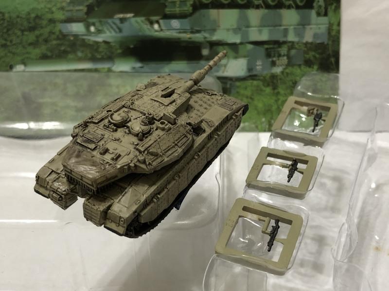 1/144 N 規 海洋堂 takara wtm 6世界戰車博物館以色列 Mk.III梅卡瓦主力戰車綠色迷彩#115