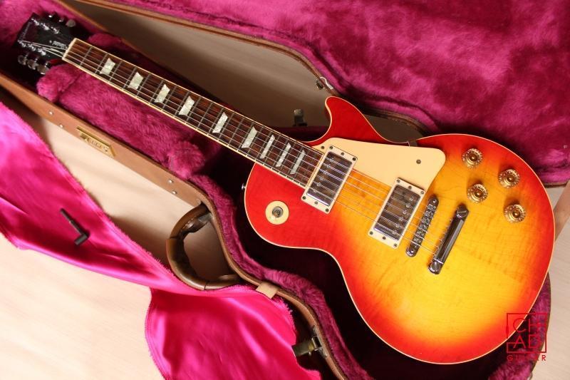 【Chad's Guitar】1999 Gibson Les Paul Standard Cherry Burst