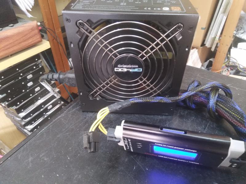 旋剛 sharkoon 400W  電源供應器  QP400  80+ 銅牌/外觀新