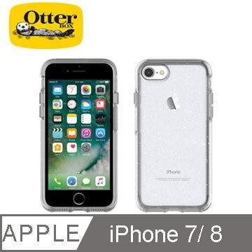 北車 OtterBox iPhone 7/iphone8 4.7吋 Symmetry 炫彩 幾何 透明 保護殼-冰雪晶透