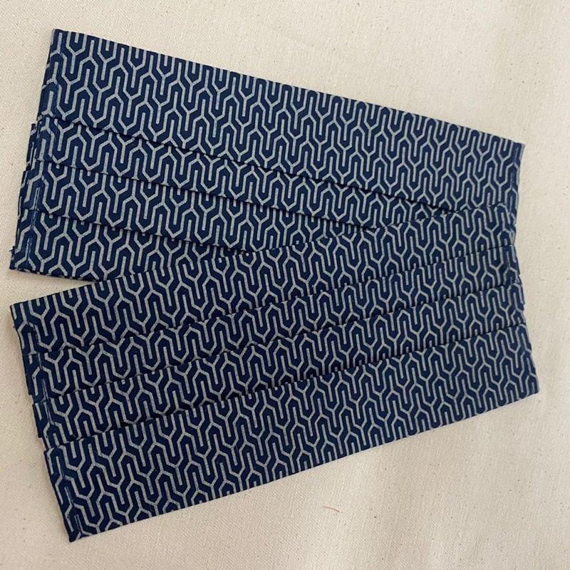 日式Y流線紋💮手作 口罩套 布口罩套 😷 博棉布口罩套成品