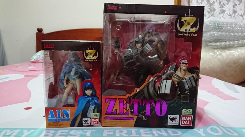 【O-sun】Figuarts Zero 航海王 海賊王 One Piece Film Z 將軍+艾因 日版金證