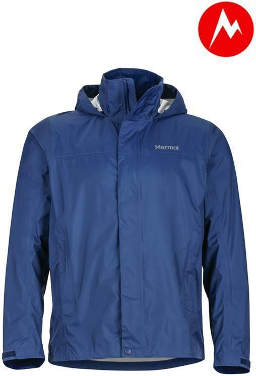 Marmot-美國-PreCip Jacket 男防水透氣外套-藍色#41200-2975【樂山林戶外用品館】