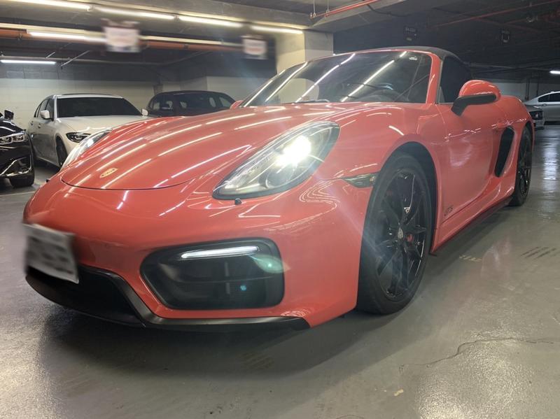 PORSCHE 保時捷 981 Boxster GTS 紅色 碳纖維套件 選用配備 車美價優 台北速洽!