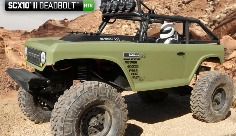 天母168  Axial SCX10 II Deadbolt 4WD RTR AX90066  JEEP 攀岩車