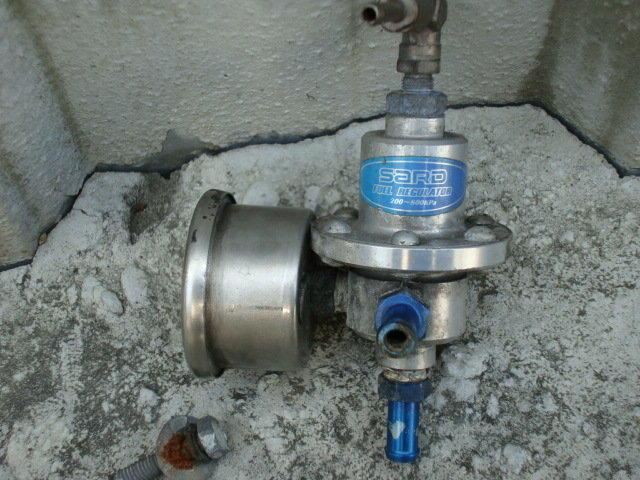 SARD 汽油調壓閥 濕式壓力表 + 表頭 整組