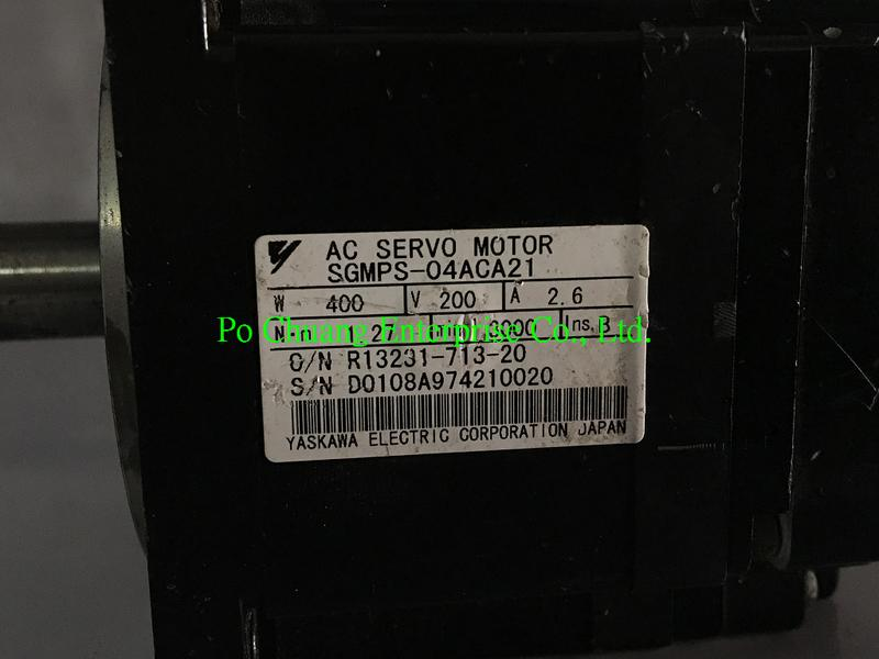 販售與維修 YASKAWA 安川  MOTOR SGMPS-04ACA21  (歡迎詢問)