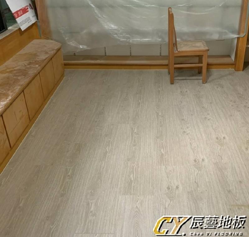 辰藝地板~案場實例~新豐鄉新庄路(林設計師)7.8吋超耐磨-7803