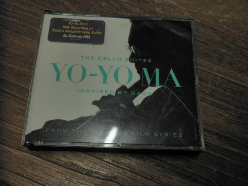 The Cello Suites: Inspired by Bach = Yo-Yo Ma =2 CD=片況佳