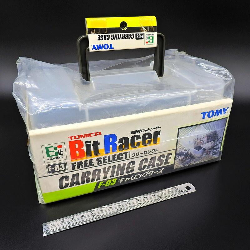 TOMY TOMICA F-03 Bit Racer CARRYING CASE 零件盒 零件箱 比速車