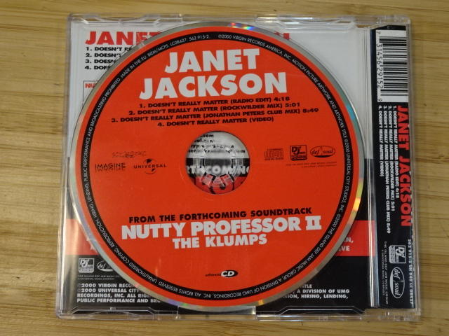 《啟元唱片》珍娜傑克森 [R&B] JANET JACKSON 一笑置之  DOESN'T REALLY MATTER