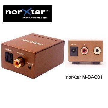 音源轉換器☆-M-DAC01 數位同軸(SPDIF)/光纖(Toslink)輸入 類比RL 輸出+1.5米光纖線