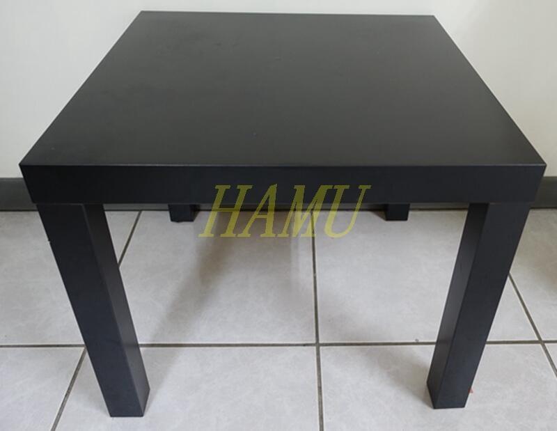 【哈姆】二手八成新! IKEA LACK 邊桌 茶几 黑色