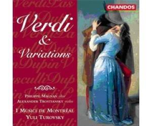 詩軒音像威爾第茶花女小提琴幻想曲 Verdi & Variations CD-dp070