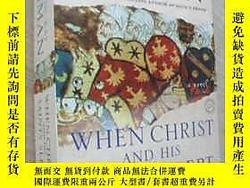 古文物英文原版罕見When Christ and His Saints Slept露天7215 Sharon Kay P