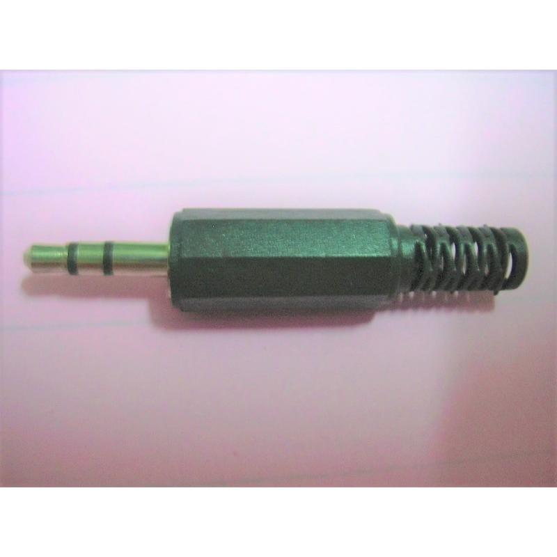 3.5 立體公頭 3.5mm公插頭 音源頭 立體音 DIY 自焊接頭 音源線頭 耳機線頭 塑膠八角殼