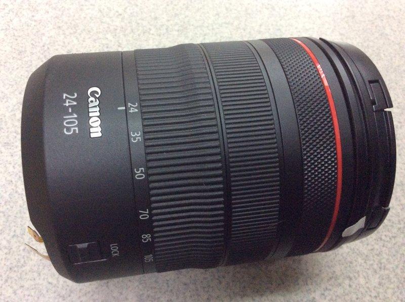 「高雄明豐相機維修」Canon RF 24-105mm F4 接口斷裂 主機板更換 光異常 伸縮故障 維修服務