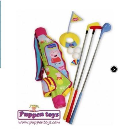 出口歐洲 佩佩豬/蜘蛛俠 玩具高爾夫套桿 戶外運動玩具 3歲+(限宅配)