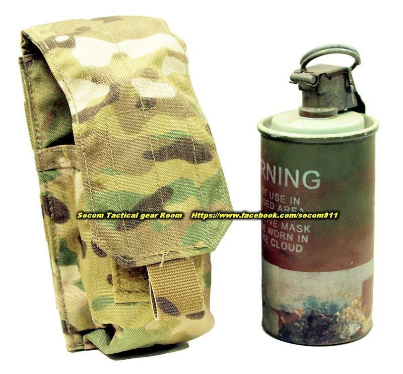EAGLE MLCS MOLLE 單連 M18 煙霧彈 震撼彈 袋 multicam色 MC 多地型