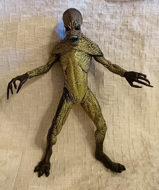[絕版稀有] X-Files X檔案 征服未來 電影版 外星人 公仔 模型 人偶