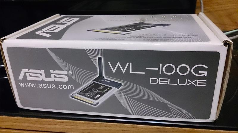 ASUS WL-100G DELUXE WINDOWS XP DRIVER DOWNLOAD