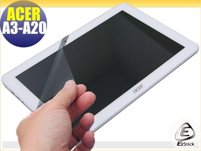 【EZstick】ACER Iconia Tab 10  A3-A20 FHD 專用 靜電式平板LCD液晶螢幕貼