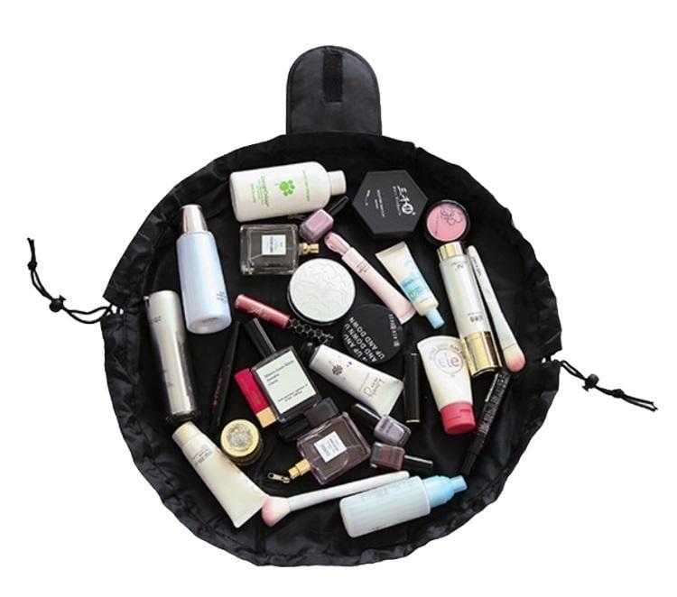 抽繩萬用包化妝包盥洗包收納袋旅行包 防水防髒  Dr.shoes鞋材輔助用品