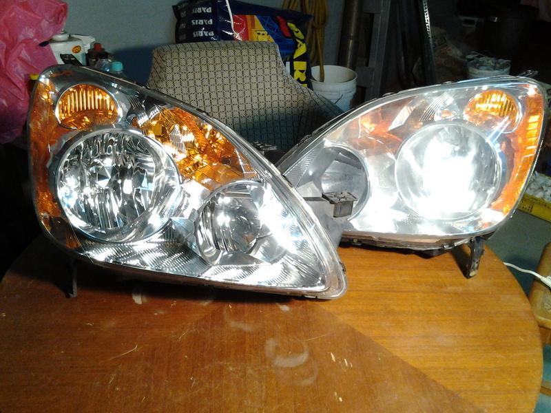 CRV 2.5代大燈 一對