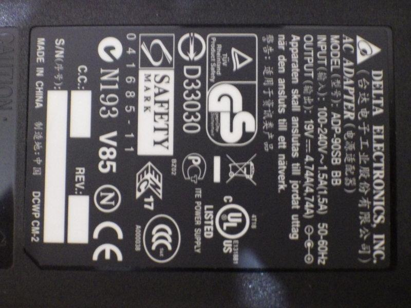 65w/90w acer/台達電變壓器/ibm/lenovo/dell/asus